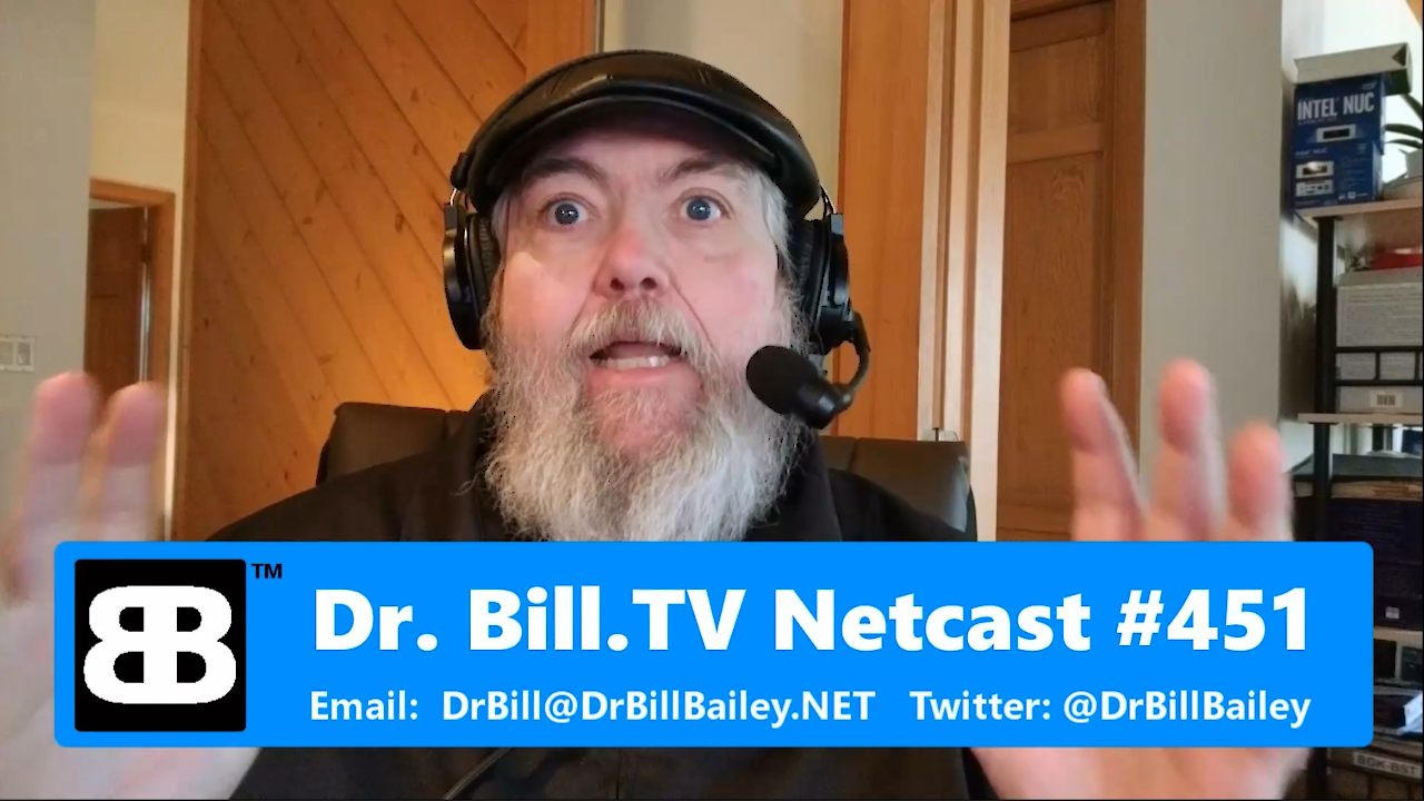 "Dr  Bill TV #451 – Video – ""The Rode Audio Edition!"""